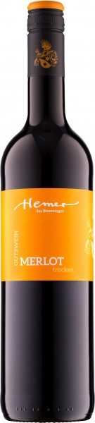 Merlot trocken 2017 | Weingut Hemer BIO