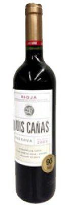 Luis Canas Reserva DOCa 2010