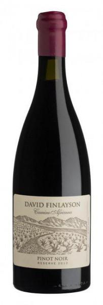 Edgebaston Finlayson Camino Pinot Noir 2012
