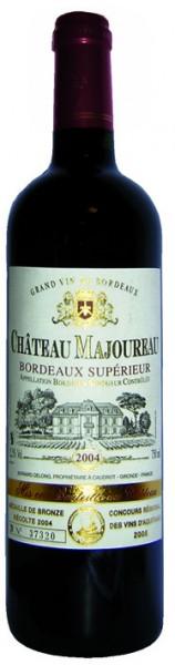 Château Majoureau Bordeaux supérieur AOC 2018