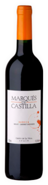 Marques de Castilla Barrica Merlot Cabernet Sauvignon 2018