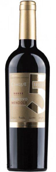 Tenute Quattro Conti Primitivo Mendola Limited 2015 Conti Zecca