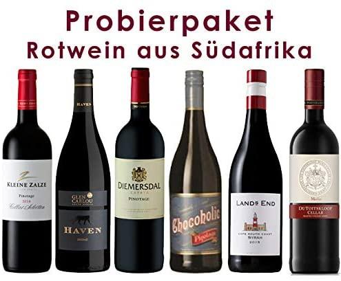 Probierpaket Rotwein aus Südafrika