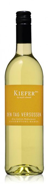 Weingut Kiefer Den Tag versüßen Weißweincuvée lieblich QbA 2017