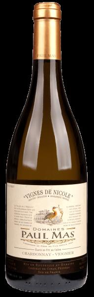 Domaines Paul Mas Chardonnay Viognier Vignes de Nicole IGP 2019