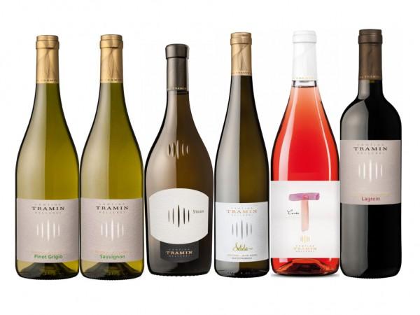 Probierpaket Weine von Kellerei Tramin, Südtirol