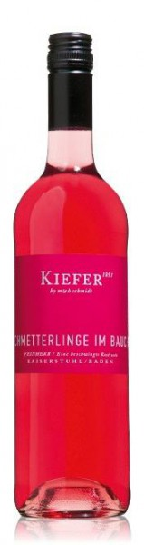 Schmetterlinge im Bauch Rosé QbA 2020 Weingut Kiefer