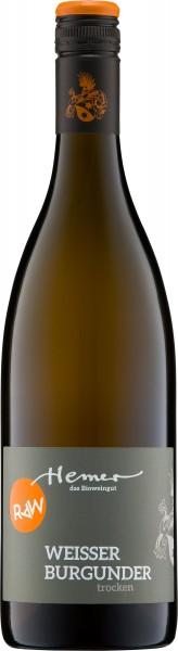 RAW-Orange Weisser Burgunder trocken 2018 Rheinischer Landwein Weingut Hemer BIO