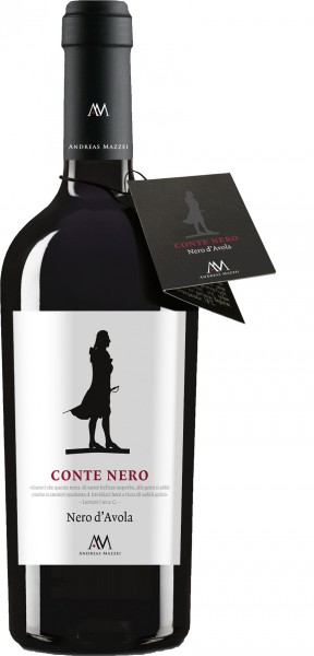 Conte Nero DOP Nero d'Avola 2019 Cantine Andreas Mazzei
