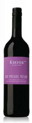 Weingut Kiefer Die Freude teilen Rotweincuvée lieblich QbA 2018